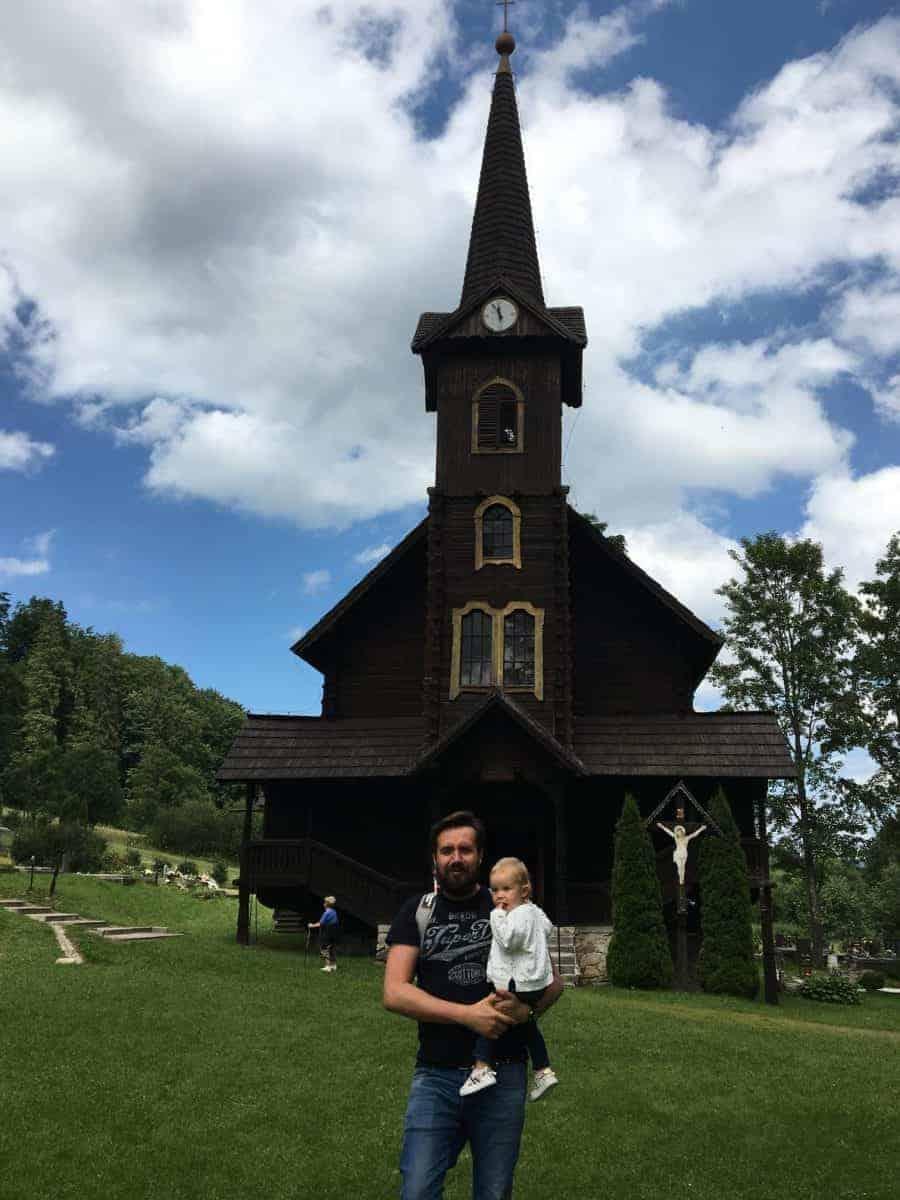 Kościół Św. Anny Jaworzyna Tatrzańska Słowacja
