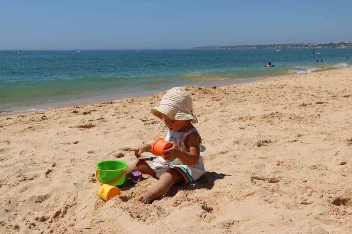 Plaża Salgados Portugalia
