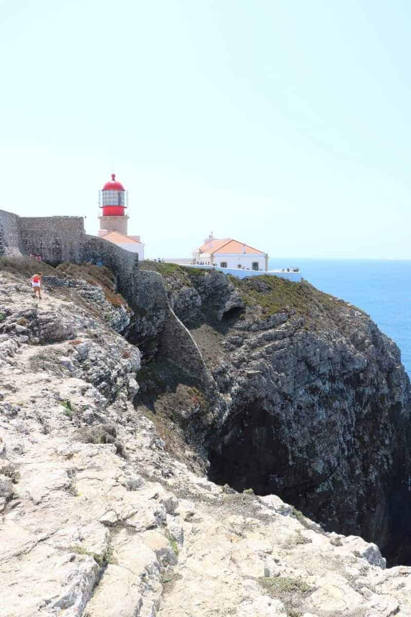 Przylądek Św. Wincenta w Portugalii