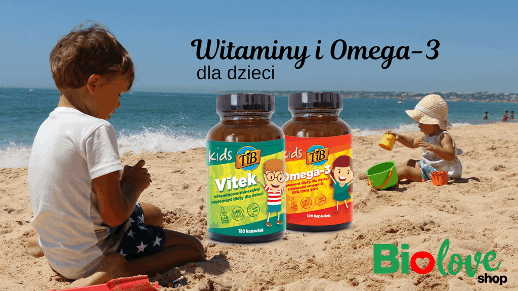 Witaminy i minerały oraz kwasy tłuszczowe Omega-3 dla dzieci
