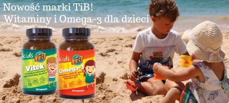 Witaminy i Omega-3 dla dzieci