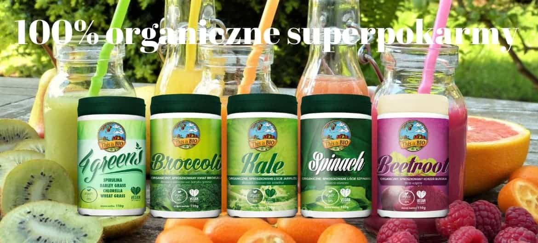 Ekologiczne super pokarmy
