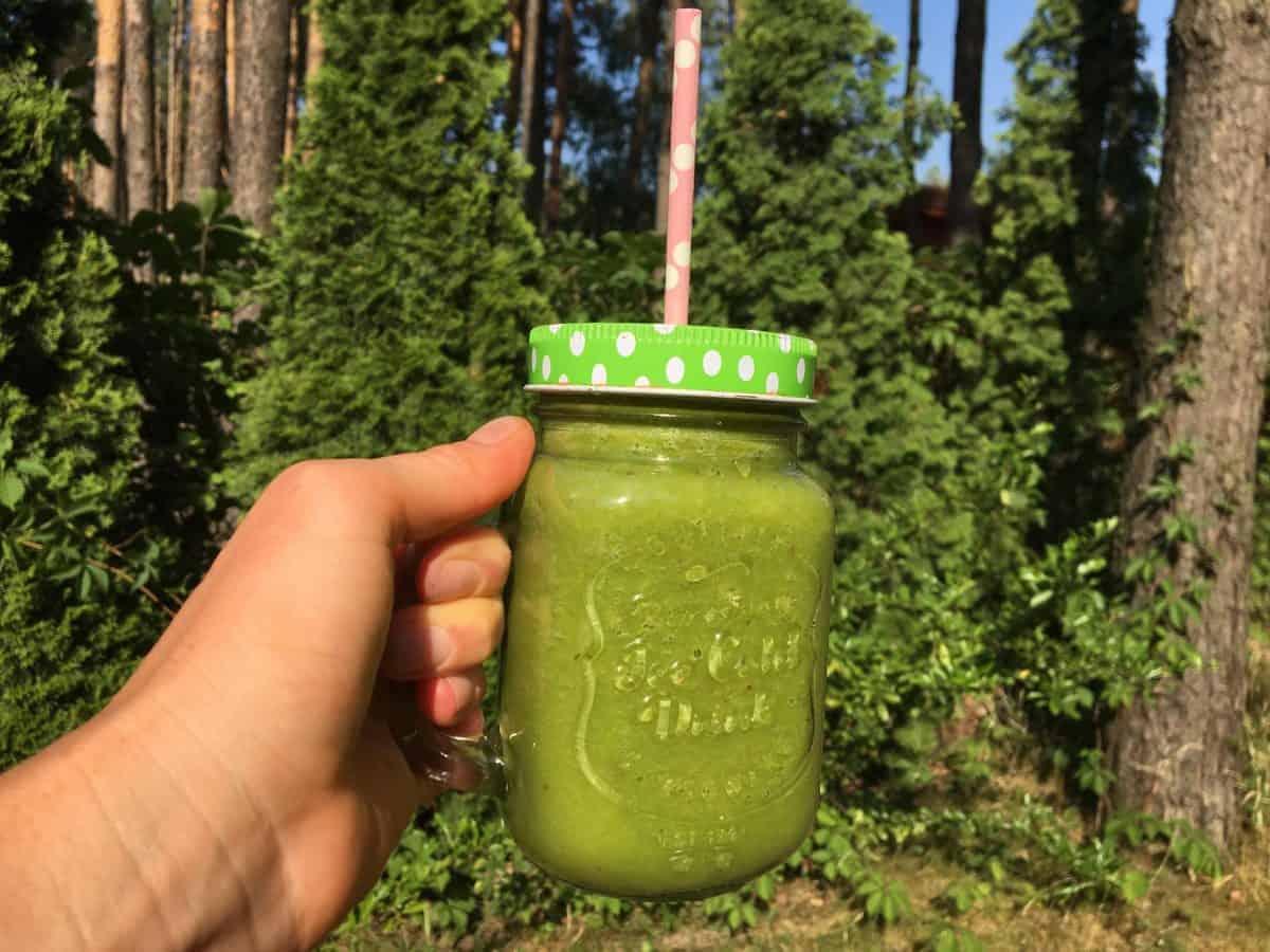 Zielony koktajl przyśpieszający metabolizm